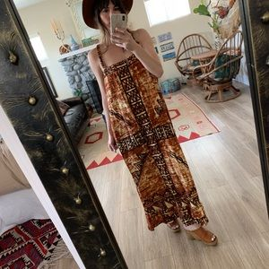 Dresses & Skirts - Vintage handmade free size desert maxi dress